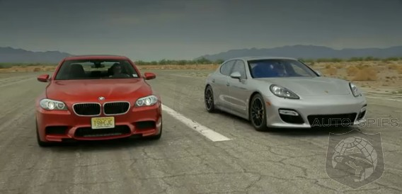 CAR WARS! BMW M5 vs. Porsche Panamera GTS - WHICH Is The Better Of The Two?