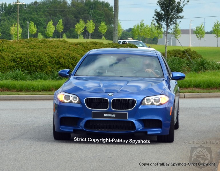 SPIED: FIRST Pictures Of The F10 BMW M5 On The Ground Stateside
