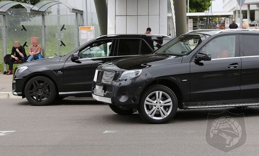 SPIED: NEW Shots Of The Newly Revamped Mercedes-Benz M-Class — Can YOU Spot The Changes?