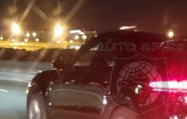 SPIED on the STREET FIRST Picture Of REFRESHED Porsche Macan Nabbed On SoCal Freeway