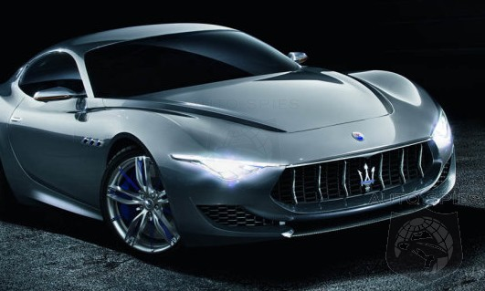It's OFFICIAL! Maserati To Produce The Levante For 2015 AND Alfieri For 2016 — How Does The Initial Plans Sound To YOU So Far?