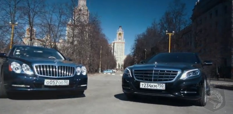 CAR WARS Sibling Rivalry  How Does The AllNew MercedesMaybach