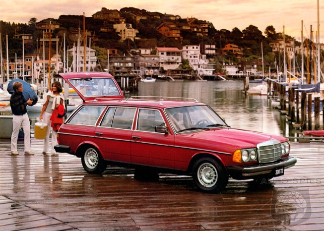 the hipster's all-new love affair with the mercedes-benz 300td wagon