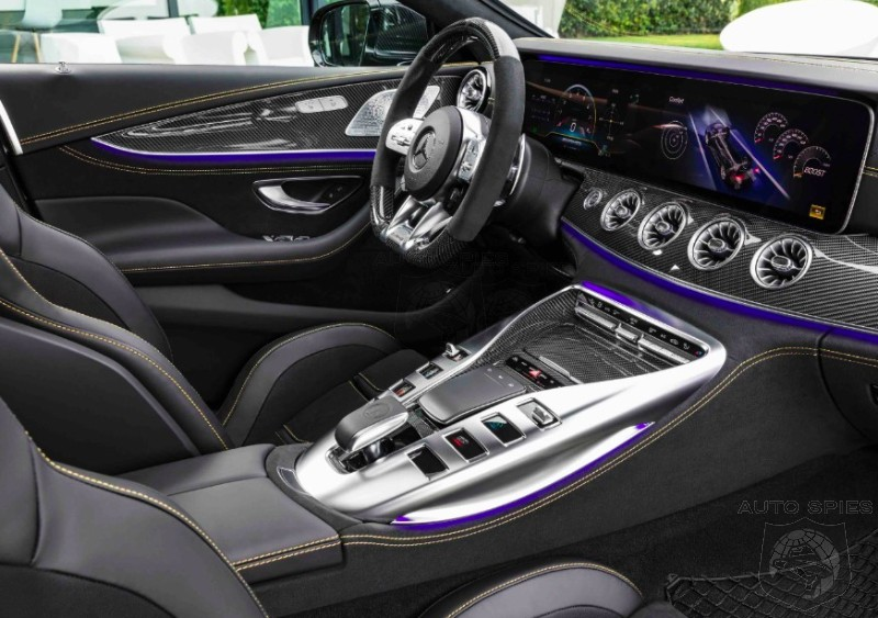 #GIMS: DETAILED Look Behind The Wheel Of The All-new Mercedes-AMG GT 4-door — Does Its INTERIOR Impress YOU?
