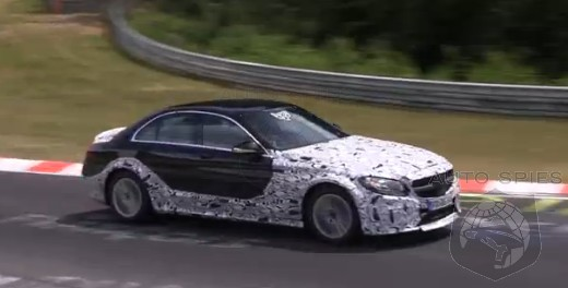 SPIED + VIDEO: Next-Gen Mercedes-Benz E-Class SPOTTED Lapping The Green Hell