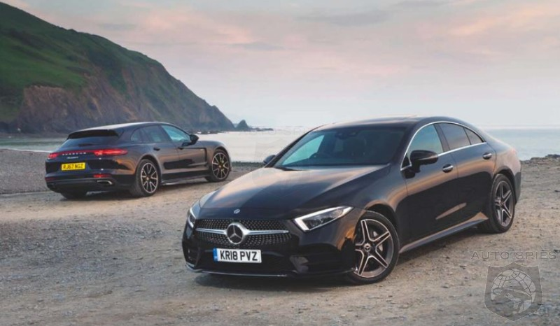 CAR WARS! A Battle Of The Eccentrics — All-new Mercedes-Benz CLS Challenges The Porsche Panamera Sport Turismo