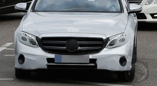 SPIED: BEST Look Yet At The All-New Mercedes-Benz E-Class — Get A Peek At Its All-New Mug