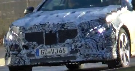 SPIED + VIDEO: Mercedes-Benz's E-Class COUPE Caught On Camera And In Action For The FIRST Time!