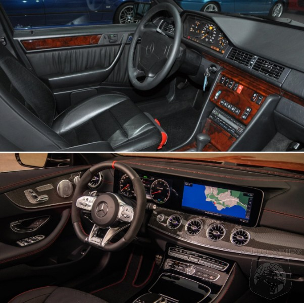Mercedes Benz Interior >> Which Interior Lights Your Fire The Mercedes Benz E500 Or