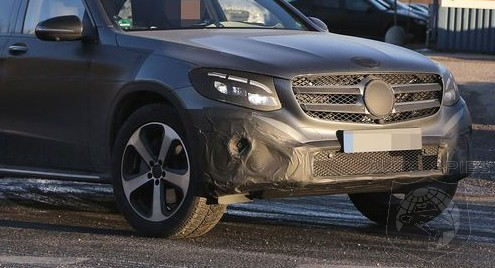 SPIED MORE Clothing Comes Off The All New Mercedes Benz GLC Class BEST Spy Shots YET Show Off Its Design