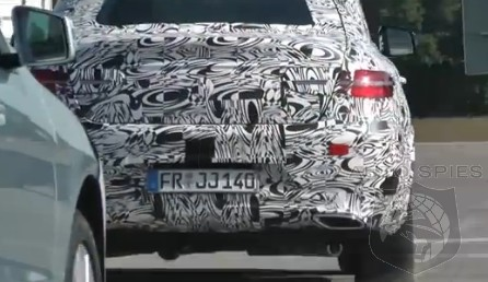 SPIED + VIDEO: NEW Footage Of The Mercedes-Benz MLC In Convoy