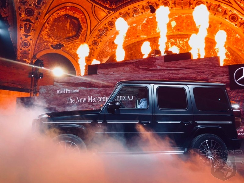 #NAIAS: Mercedes-Benz RELAUNCHES Its Iconic G-Class SUV With FIRE And The Help Of An A-Lister