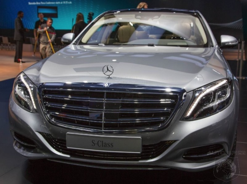 Detroit Auto Show Mercedes Benz Trots Out Its Ultimate Luxury