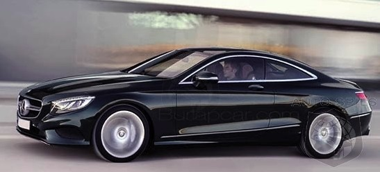 SPIED: FIRST Known Official Shot Of The All-New Mercedes-Benz S-Class Coupe LEAKS Out!