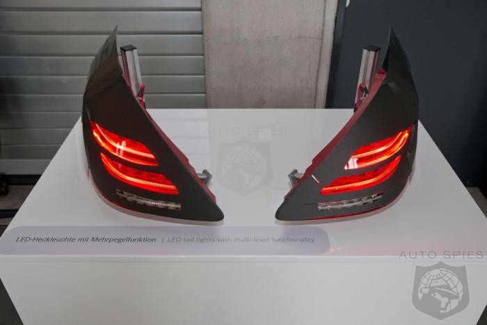 What Do The All-New Mercedes-Benz's S-Class' Taillights Tell YOU? Will It Be A GRANDER or BADDER S?