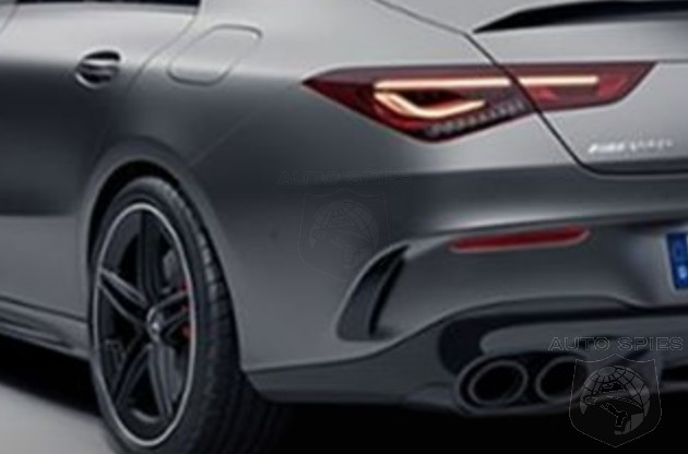 LEAKED! The All-new Mercedes-AMG CLA45 Gets Revealed By An