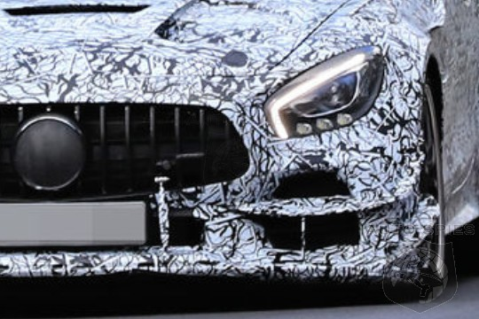 SPIED! The Mercedes-AMG GT R Is About To Get Leaner, Meaner And LOUDER. Evo? Black Series?