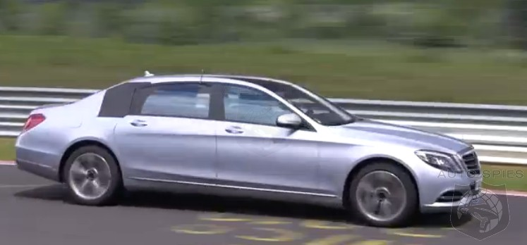 SPIED + VIDEO: Mercedes-Benz's All-New S-Class Pullman Spotted In The Place You'd LEAST Expect It