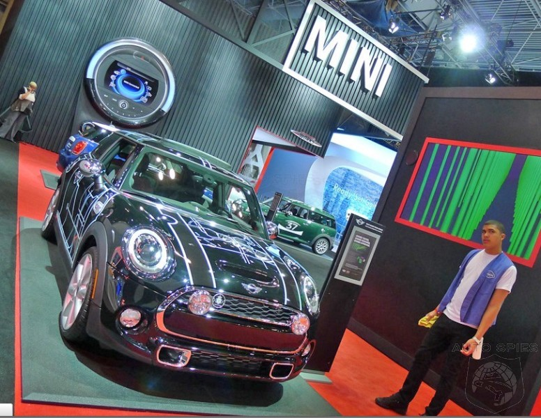 NEW YORK AUTO SHOW: Alex Coyle's WINNING MINI Design Spotted Up Close And Personal In NYC