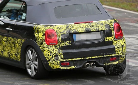 SPIED: MINI's All-New Cooper Snapped On The 'Ring, Teenage Girls Rejoice!