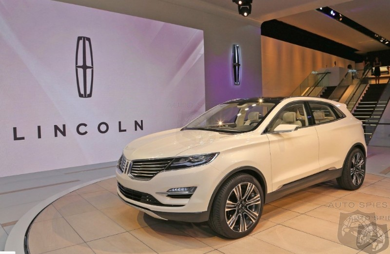 DETROIT AUTO SHOW: Lincoln's MKC Concept Taking Some Creative License From Audi's Q5?