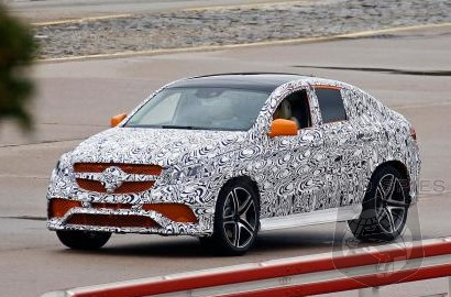SPIED: Will BMW Be ORANGE With Envy? NEW Shots Of The Upcoming Mercedes-Benz MLC AMG