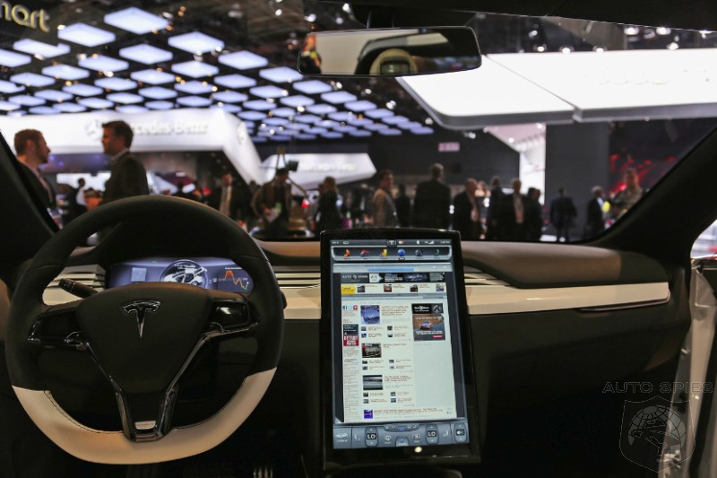 DETROIT AUTO SHOW: Tesla's Pushes Out A New Model X But Its Still Not BETA