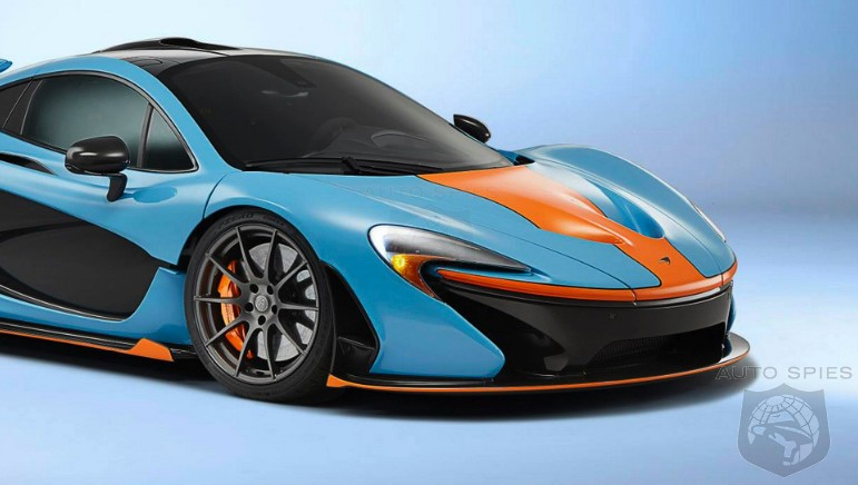 A Mclaren P1 That May Make You Blue And Orange With Envy