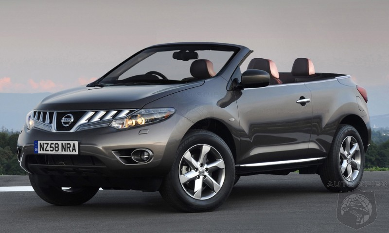 Nissan S Murano Crosscabriolet Gets Cut At The Knees