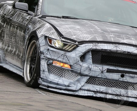 SPIED: Ford Kicks Off Testing A HIGH-Performance, All-New Mustang On The Nürburgring