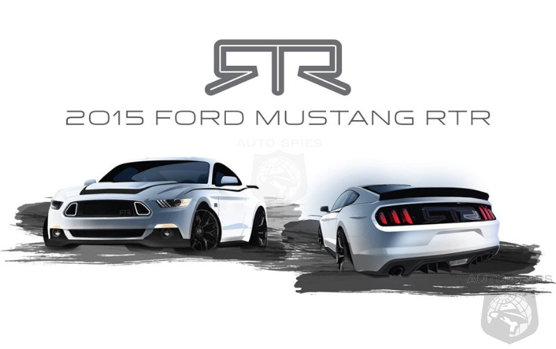 SKETCHED OUT! Ford Mustang Fans Get Prepared For The 2015 Mustang RTR