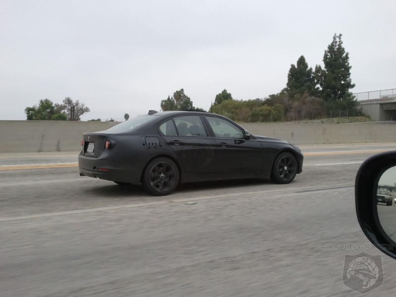 SPIED: A Mysterious All-New BMW 3-Series POPS Up In SoCal - What Do YOU Think It Is?