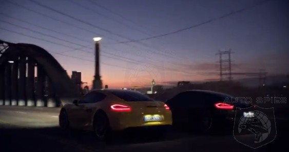 VIDEO: Gratuitous Car Porn Shots Of The All-New 2013 Porsche Cayman