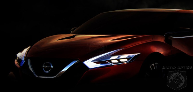 DETROIT AUTO SHOW: TEASED! Is Nissan Bringing The Next-Gen Maxima To The Motor City?