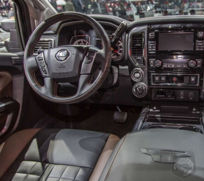 Titan Auto Sales >> #NAIAS: But WAIT, There's MORE! Check Out The 2016 Nissan Titan's INTERIOR - AutoSpies Auto News