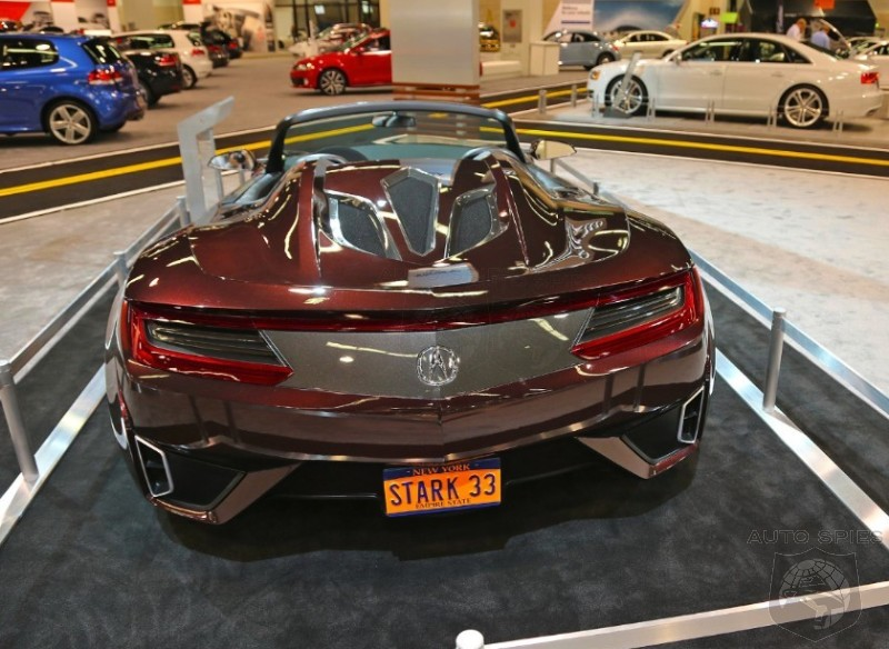 OC AUTO SHOW: Tony Stark's Infamous Acura NSX Makes A Guest Appearance