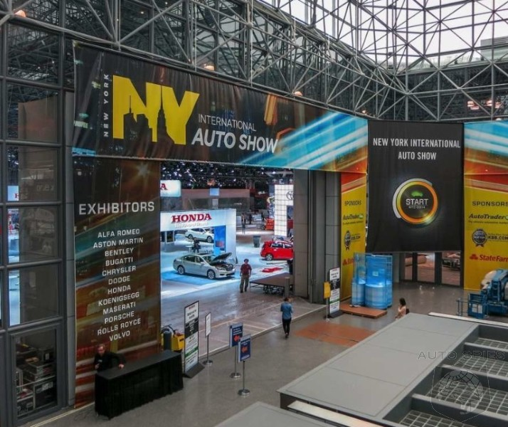 WORLD EXCLUSIVE: Spies Get FIRST Pictures From The 2014 New York Auto Show ONE DAY EARLY!