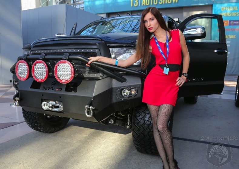 NEW YORK AUTO SHOW PREVIEW: HOT Cars And HOT Women In The HOTTEST City