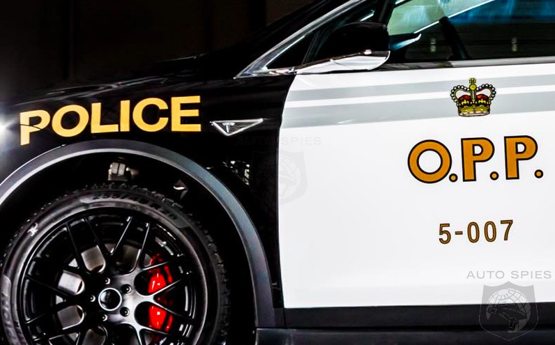 Ontario Police Unveil An All-new Fleet Vehicle Ready For Duty, Comes Under Fire — Is It A WASTE To Spend On A Tesla Model X?