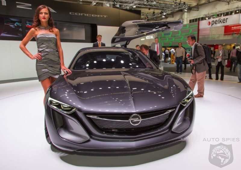 FRANKFURT MOTOR SHOW: Opel Previews The Future With Its Chic Monza Concept — Enough To Differentiate Itself From Chevy?