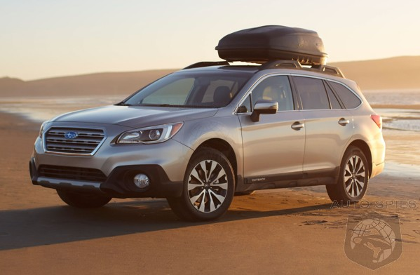OFFICIAL: Get Your Kayaks And Hiking Boots Ready For The Dealership! The 2015 Subaru Outback Has Been Priced!
