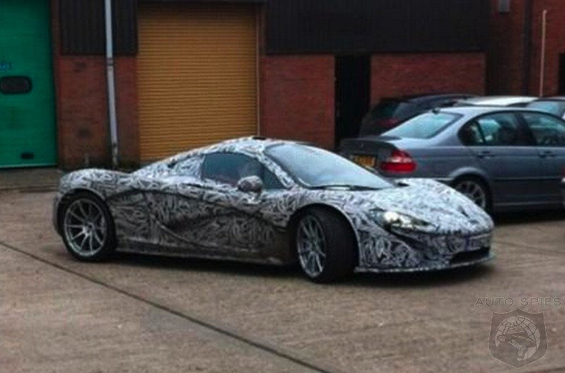 SPIED: McLaren's P1 In Production Trim Spotted For The FIRST Time