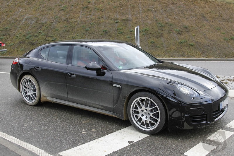 SPIED: Porsche's Panamera Eyed Under Camo, Changes Coming In 2012
