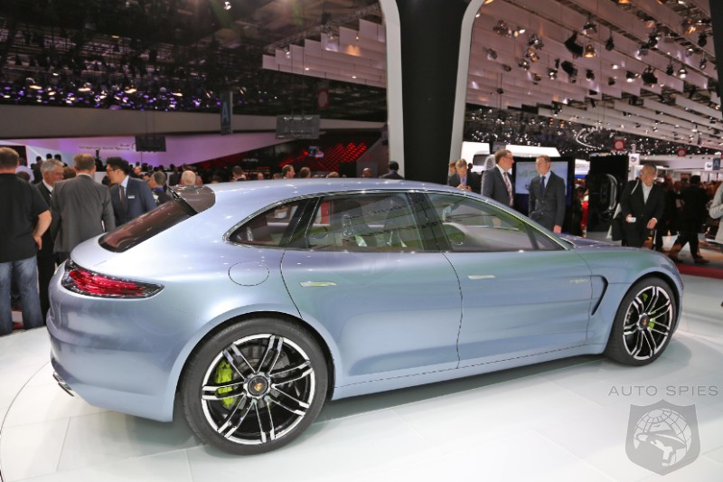 PARIS MOTOR SHOW: Does The Porsche Panamera Super Turismo Solve The Panamera's BUTT Troubles?