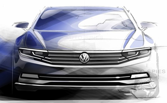 SKETCHED OUT: Volkswagen's Next-Gen Passat Detailed BUT Is It Too BORING And BLAND Compared To Its Competitors?