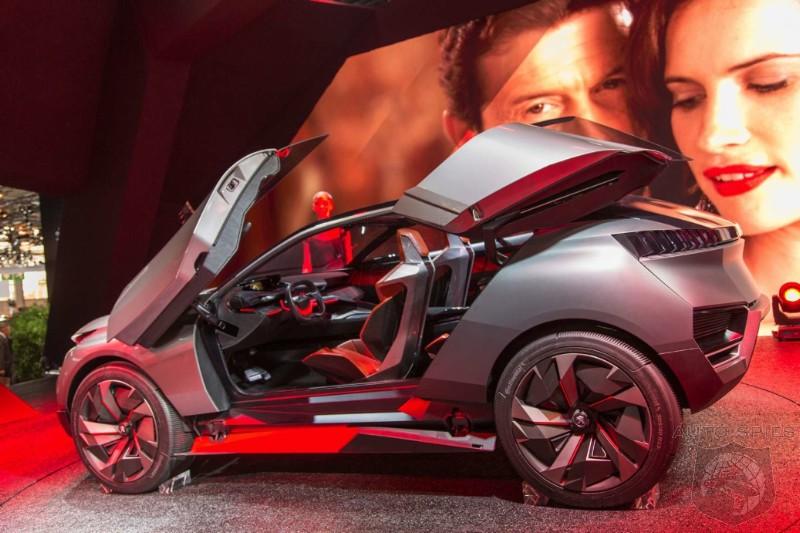 Paris Motor Show 500 Horsepower Check Badass Design