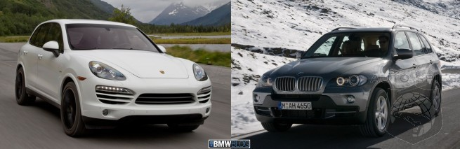 CAR WARS! BMW X5 35d Goes Toe-To-Toe With Porsche's Cayenne Diesel