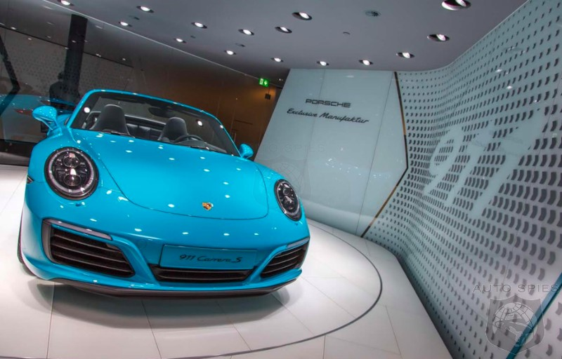 IAA AWESOME or AWFUL? How Do YOU Like The Porsche 911 In
