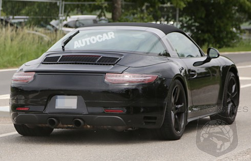 SPIED: FIRST Photos Of The Porsche 911 (991) Targa GTS Arrive — If YOU Have A Targa On Order, You MAY Want To Cancel It For TWO Reasons