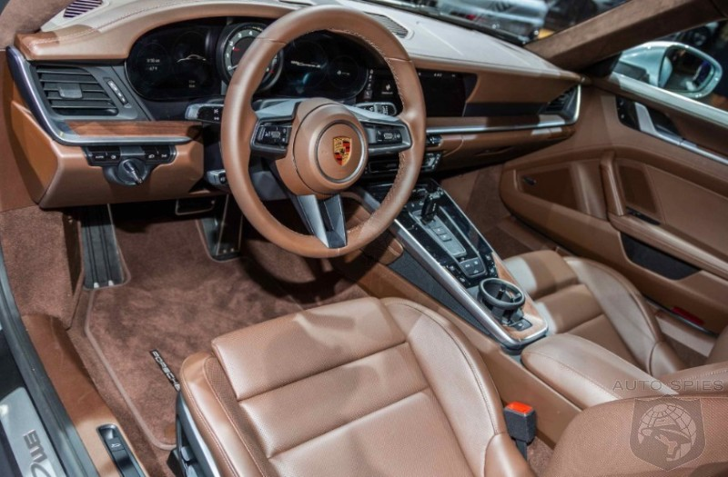 EXCLUSIVE! DETAILED Interior Pics Of The All-new Porsche 911 You Will NOT Find Anywhere Else!